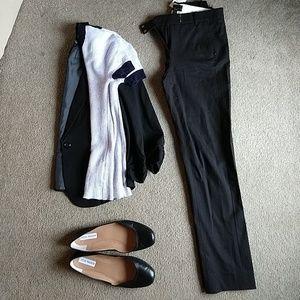 J. Crew Maddie black pant